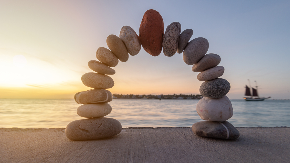 Pile of Stones Holding itself Up