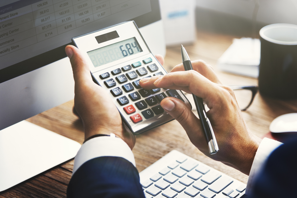 Financial advisor Adding Numbers to a Calculator